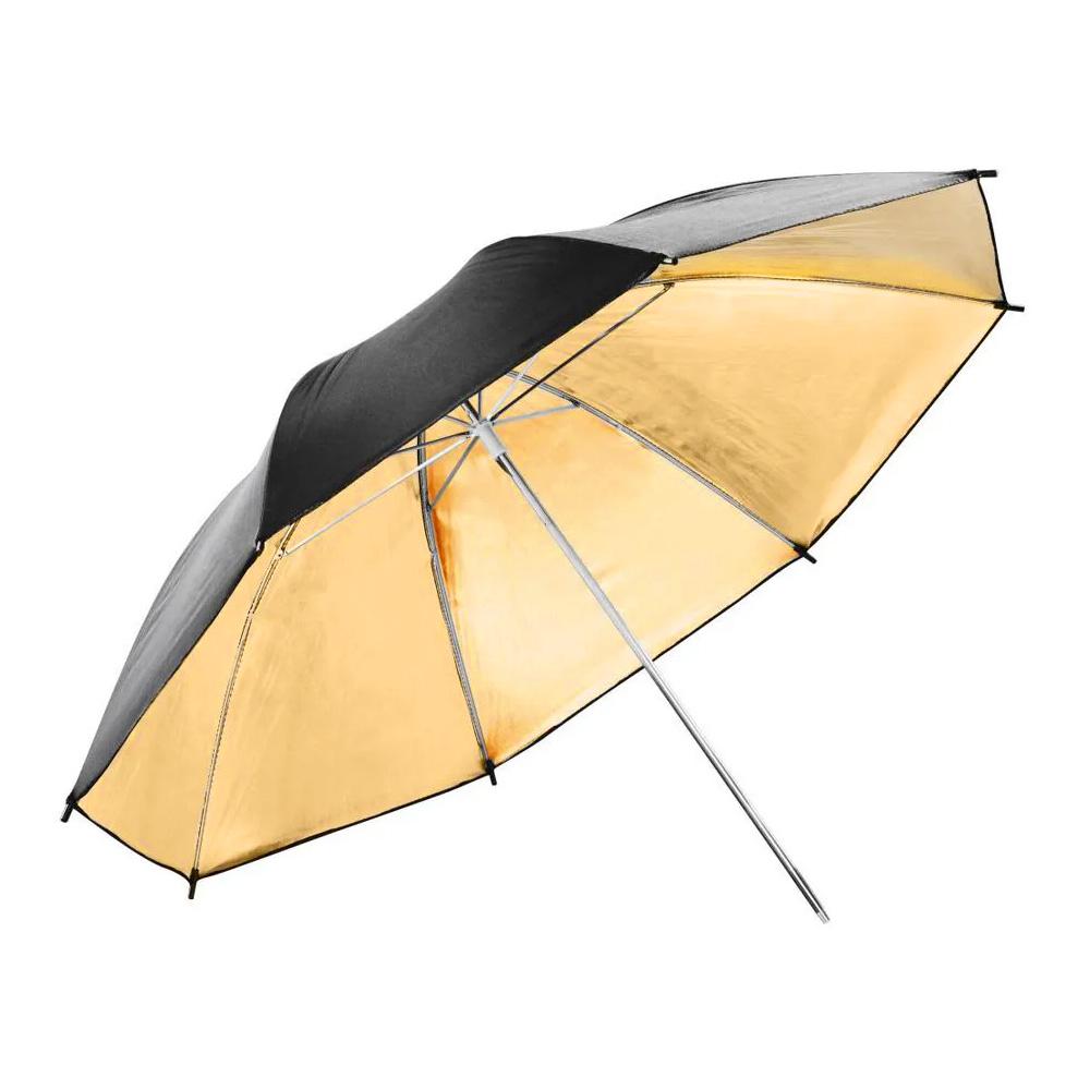 Sombrinha Dourada Refletora Para Estúdio Fotográfico KE119