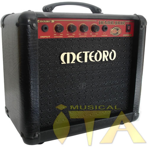 AMPLIFICADOR METEORO DEMOLIDOR FWB-20 - MUSICAL ITA ... d1f58a5eda