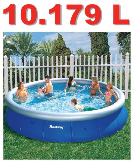 Piscina bestway 10179 litros standard giftcenter for Piscina portatil grande