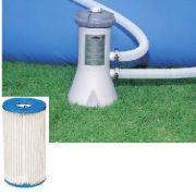 Bomba Filtrante Intex 3785 LH 110v com Transformador 500VA 220v