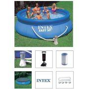 Piscina Intex 6734 Litros + Bomba Filtrante 110v + Bomba de Inflar + CAPA