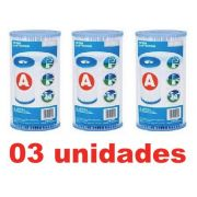 Kit 03 Cartuchos A Filtro Intex Bomba Filtrante 2006 3785 #29003