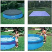 Kit de Limpeza + Forro + Capa 4,57 inflável Intex