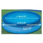 Protetor Aquecedor Solar Capa Aquecedora Piscina 244 Cm 2,44 m Intex #29020