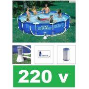 Piscina Intex 6503 Litros Estrutural com Bomba Filtrante 2006 LH 220v #28212