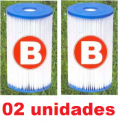 Combo com 02 Unidades do Cartucho B Intex