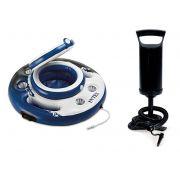 Bar Cooler Flutuante Intex 30 Latas modelo novo #56822 + Bomba de Inflar Q1