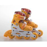 Patins Infantil In Line Fashion Rollers Bel P 28/31 Laranja