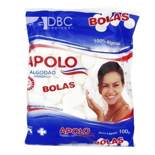 ALGODÃO APOLO 100G BOLA BRANCA