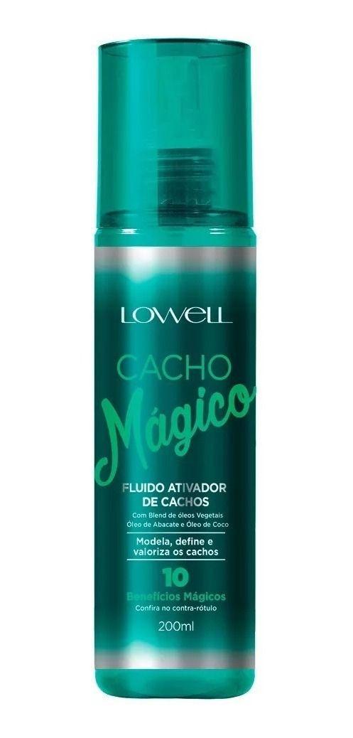 ATIVADOR DE CACHOS FLUIDO 200 ML LOWELL