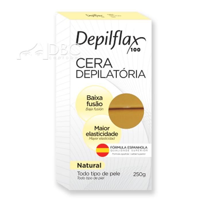 CERA DEPILFLAX BARRA 250G NATURAL