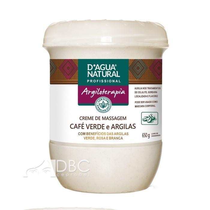 CREME MASSAGEM CORP. CAFE VERDE/ARG. 650