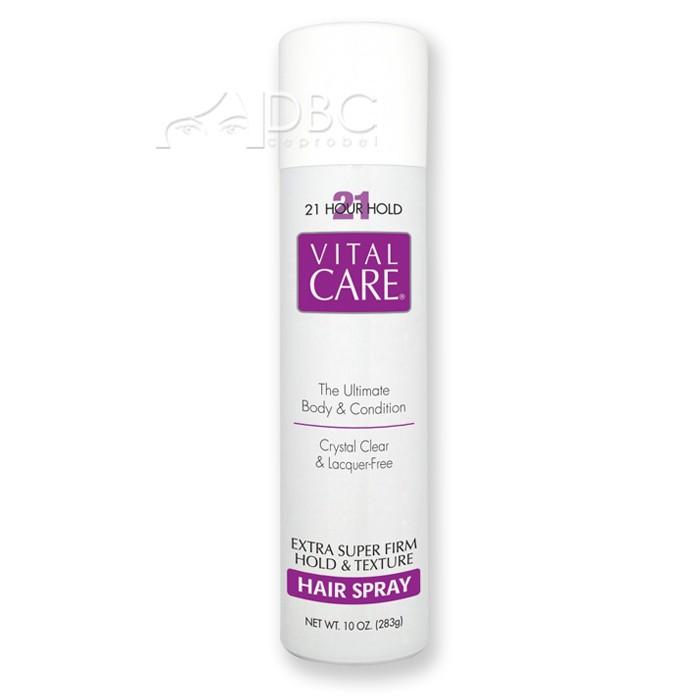 HAIR SPRAY VITAL CARE ROXO 21 H. 283 ML