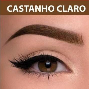 HENNA P/SOBRAN. C/LOÇÃO - E.FACIAL CASTANHO CLARO
