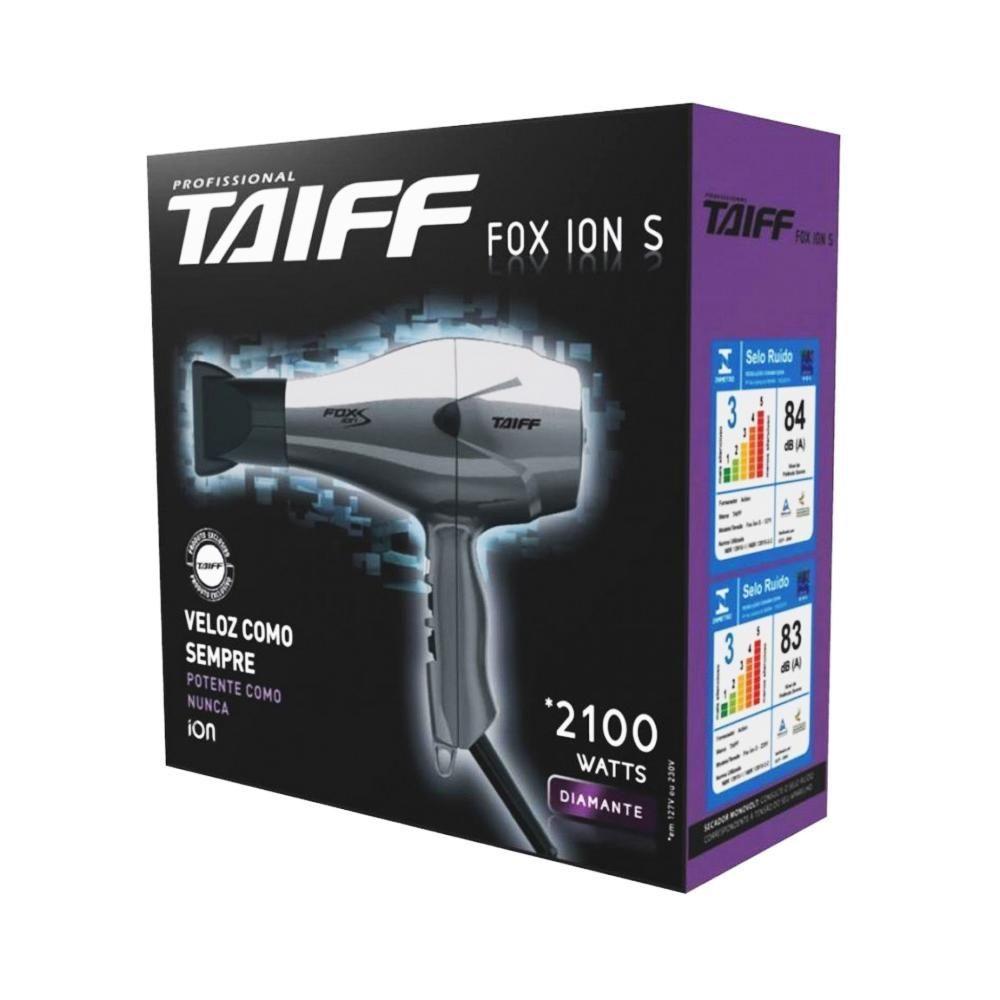 SECADOR TAIFF FOX ION S PRATA 110