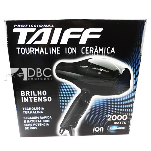 SECADOR TAIFF TOURMALINE ION 220 VOLTS