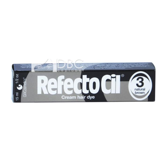 TINTA PARA CILIOS/SOBR.REF. 3 CAST. NATURAL REFECTOCIL