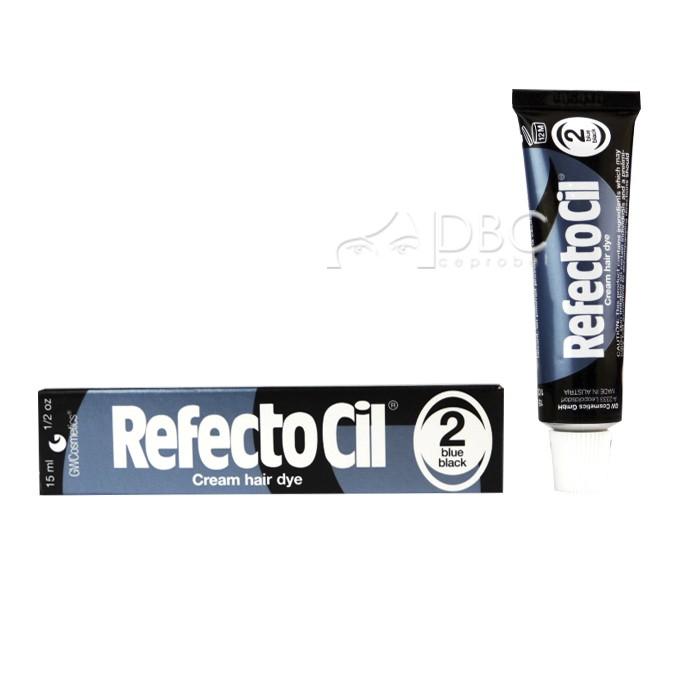 TINTA PARA CILIOS/SOBR. 2 REF. PRETA AZUL REFECTOCIL