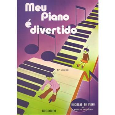 Método Meu Piano é Divertido - Volume II  - Teclasom Instrumentos Musicais Ltda