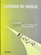 Caderno de Música Grande  - Teclasom Instrumentos Musicais Ltda