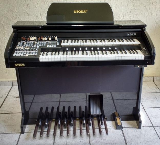 Órgão Eletrônico Tokai MD 750 Preto Alto Brilho