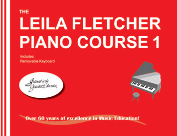 Método para piano: The Leila Fletcher Piano Course 1