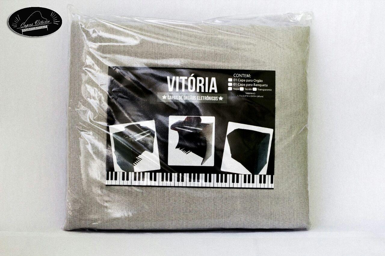 Capa para Órgão Eletrônico em Tecido Linho - Diversas Cores!  - Teclasom Instrumentos Musicais Ltda