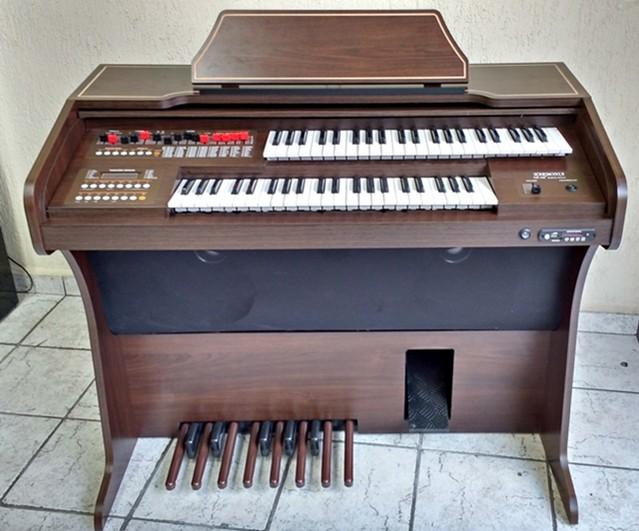 Órgão Eletrônico Harmonia HS 100 Tabaco