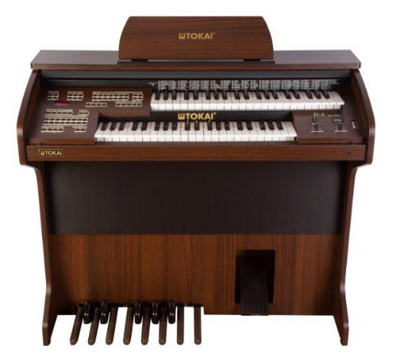Órgão Eletrônico Tokai D 2 Cor Castanho