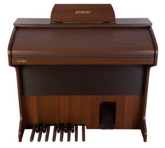 Órgão Eletrônico Tokai D 2 Cor Castanho  - Teclasom Instrumentos Musicais Ltda