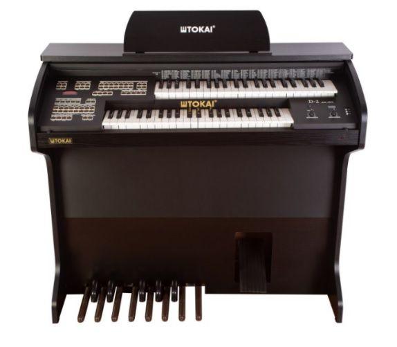 Órgão Eletrônico Tokai D 2 Cor Preto Fosco  - Teclasom Instrumentos Musicais Ltda