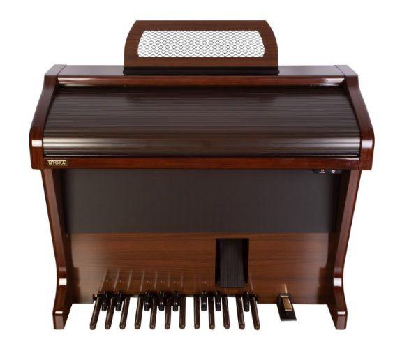 Órgão Eletrônico Tokai MD 750 Gold Imbuia Alto Brilho  - Teclasom Instrumentos Musicais Ltda