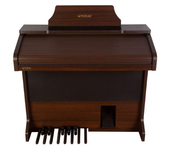 Órgão Eletrônico Tokai MD 20 Cor Castanho  - Teclasom Instrumentos Musicais Ltda