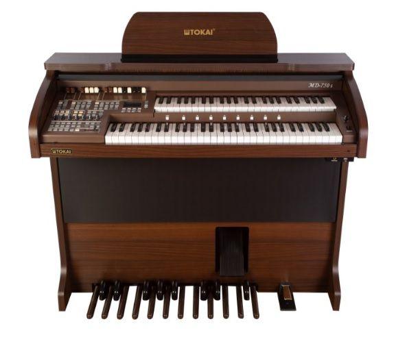 Órgão Eletrônico Tokai MD 750 Wengue