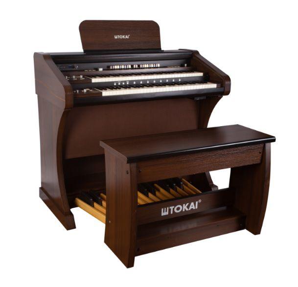 Órgão Eletrônico Tokai T 1 Concert Cor Castanho  - Teclasom Instrumentos Musicais Ltda