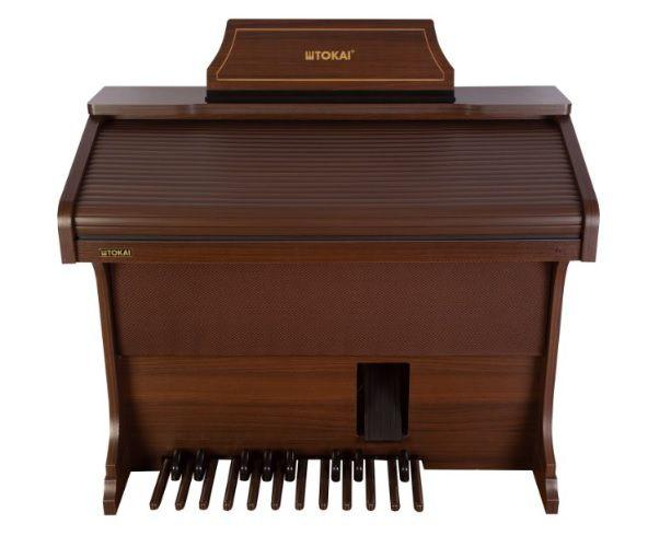 Órgão Eletrônico Tokai T 1 Litúrgico Wengue  - Teclasom Instrumentos Musicais Ltda