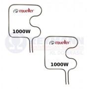 Kit com 2 Resistências Elétricas Forno Mueller Inferior 1000w 127v