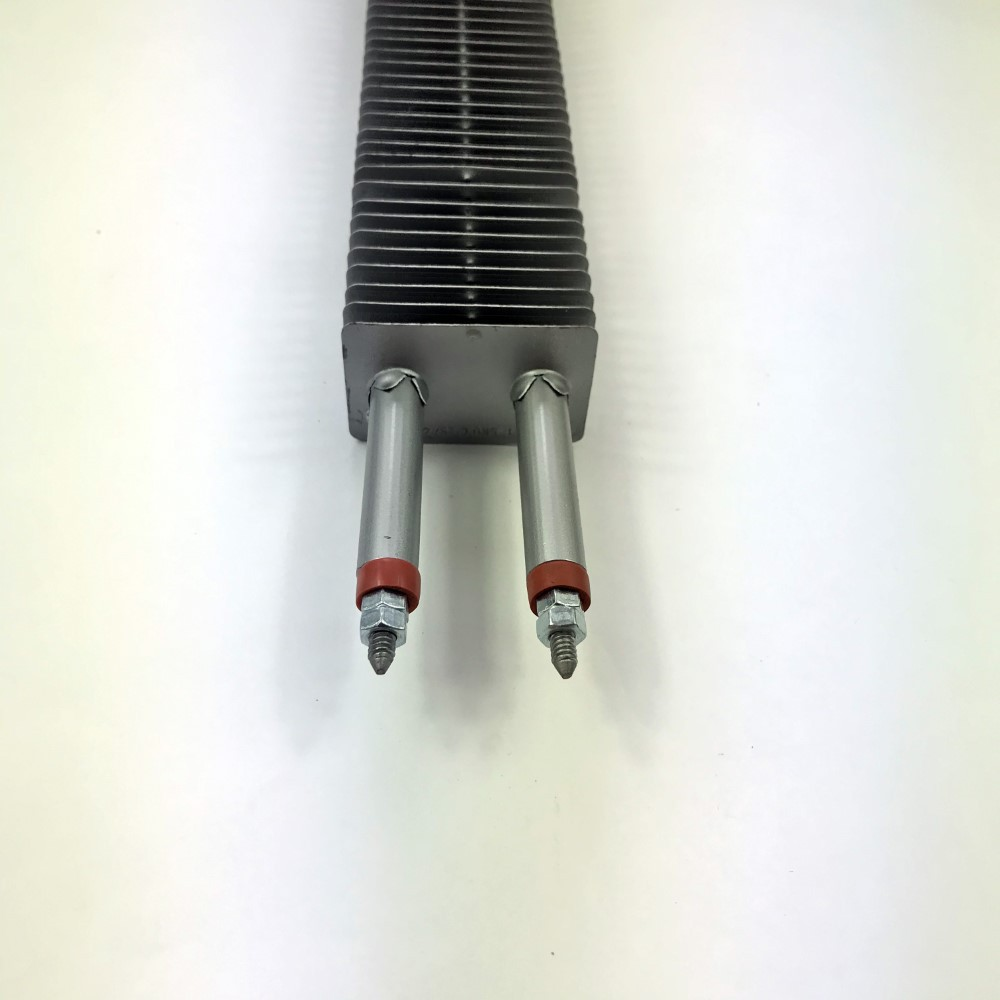 Kit com 2 Peças Resistência Elétrica Aletada Suzuki Estufa 500mm 2kw 220v