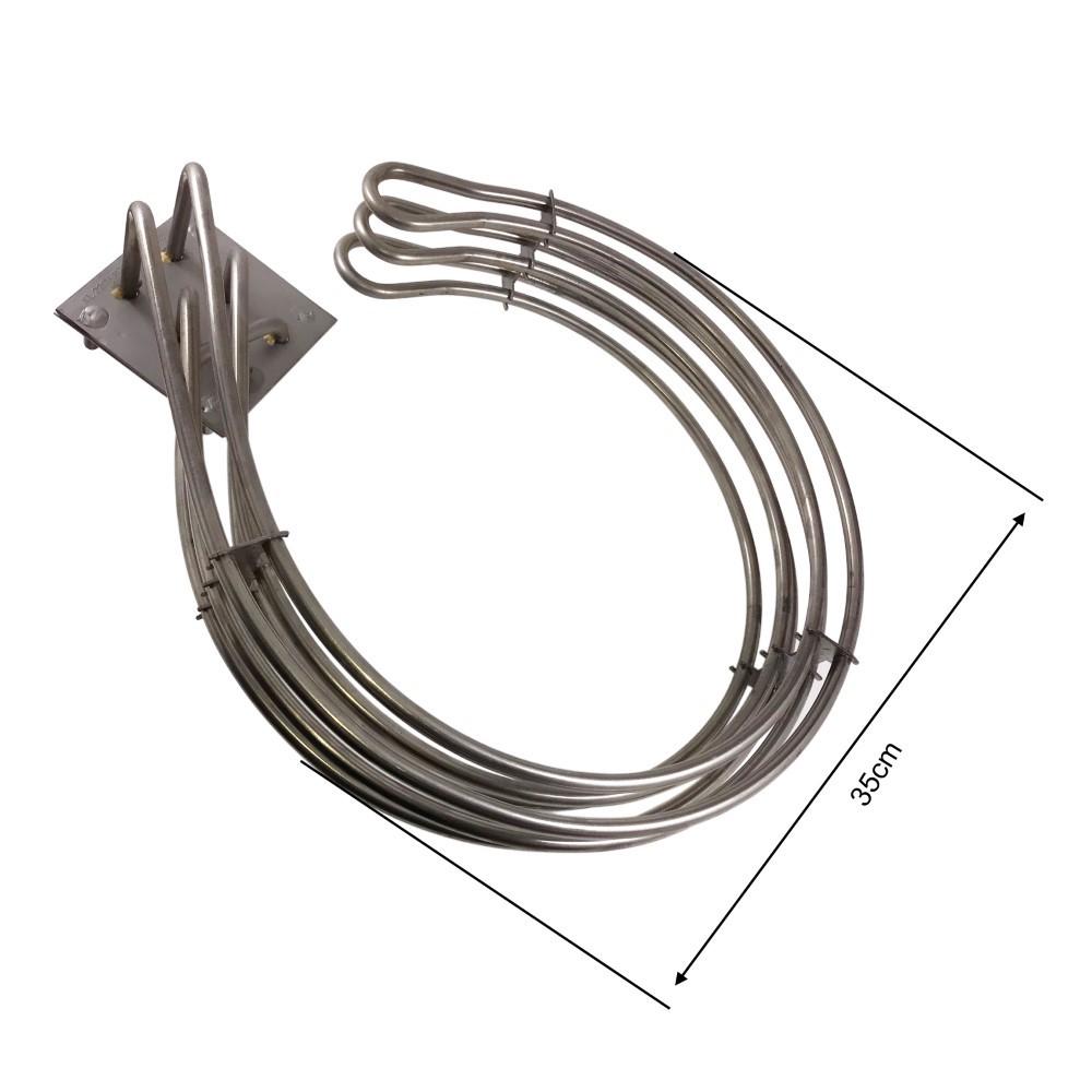 Resistência Elétrica P/ Forno Perfecta/vipão 4000w 220v 380v
