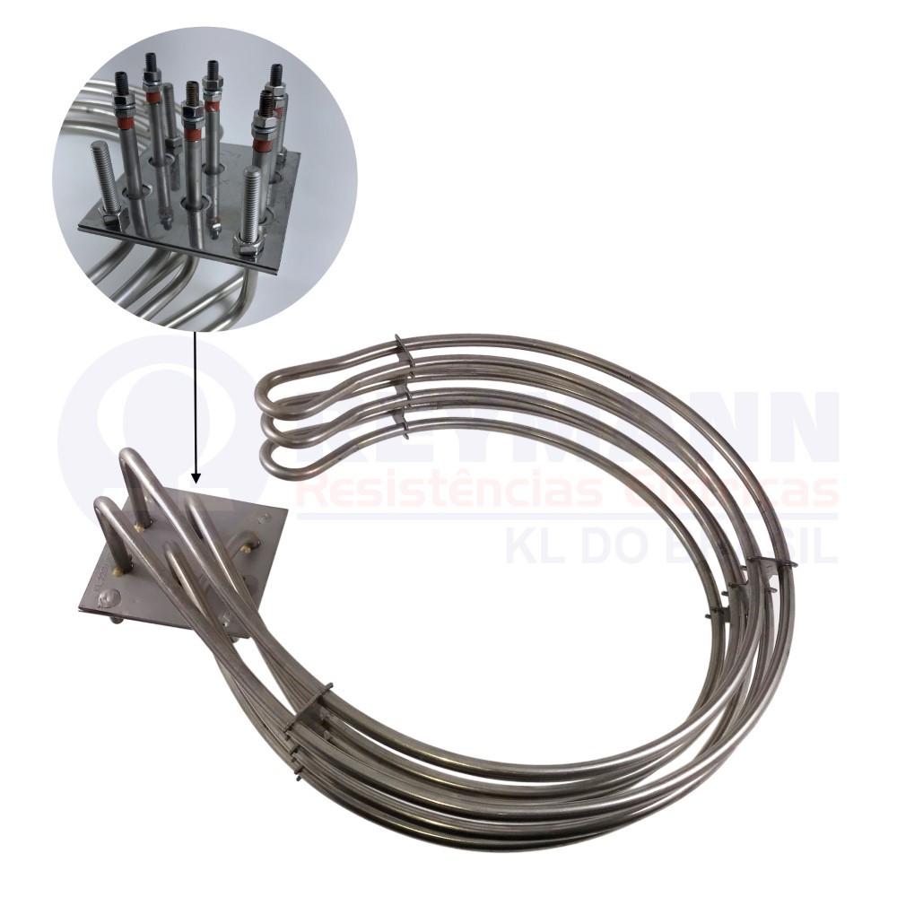 Resistência Elétrica P/ Forno Perfecta/vipão 8000w 220v 380v