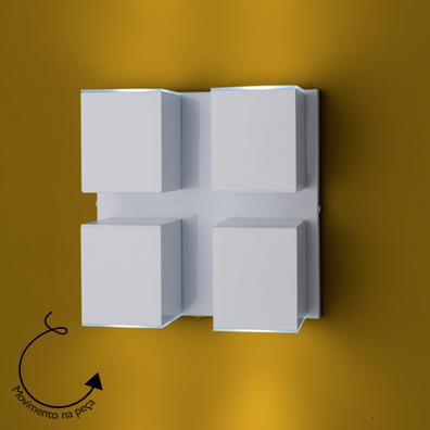 Arandela Cube Articulada 04 - FUNDIÇÃO VESUVIO