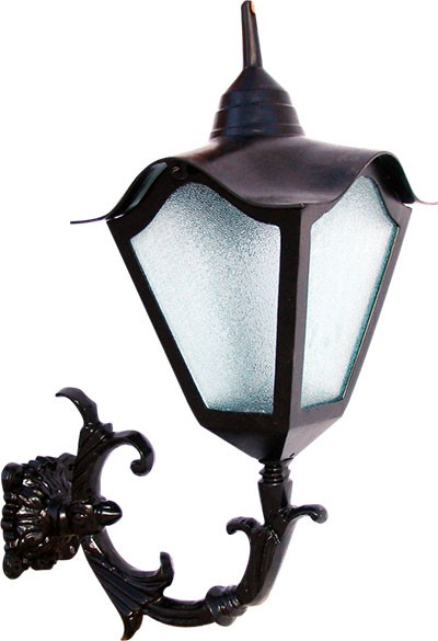 Luminária Com Braço Romana - FUNDIÇÃO VESUVIO