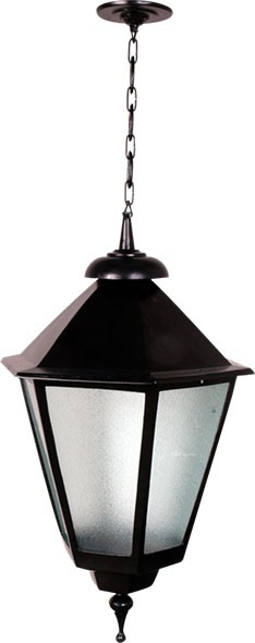 Luminária Com Corrente Italiana Grande - FUNDIÇÃO VESUVIO