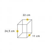 Arandela Bolt Triangular com Recortes  - FUNDIÇÃO VESUVIO
