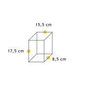 Arandela Bolt Triangular Pequena  - FUNDIÇÃO VESUVIO