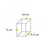 Arandela Cube Articulada 03  - FUNDIÇÃO VESUVIO