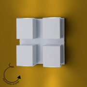 Arandela Cube Articulada 04