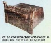 Caixa De Correio Castelo  - FUNDIÇÃO VESUVIO