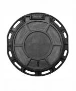 Tampão Dn600 Simples Cl400 (59,5Cm) Com 2 Travas E Anel Em Ffn