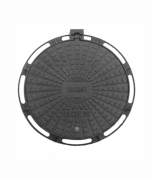 Tampão Dn800 Articulado Cl300 (83Cm) Com Chave E Tranca Fecho Vivo E Anel (Gasmig/Intelig) Em Ffn